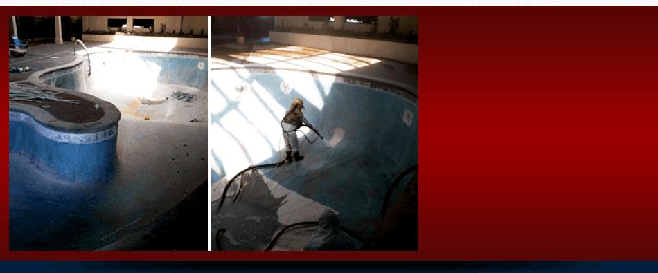 Pool Sandblasting La Vergne Tn Acme Sandblasting