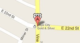 Hays City Gold & Silver 2201 Vine St. Hays, KS