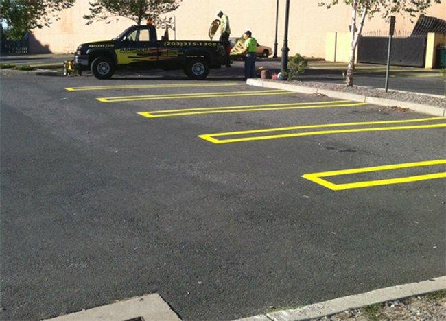 Line striping