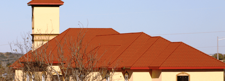Steel coated Roofs