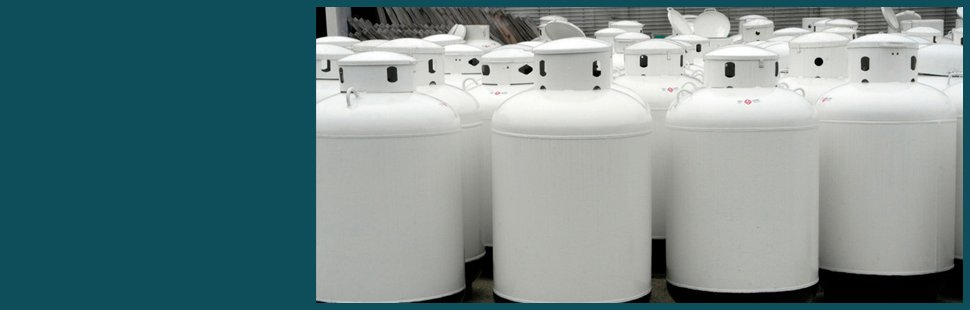 Small cylinder propane gas