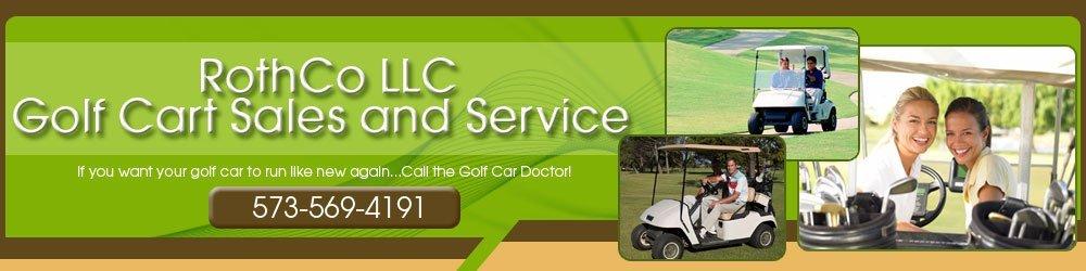 Golf Carts Repair Laurie, MO - RothCo LLC Golf Cart Sale