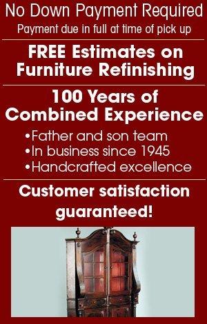 Furniture Restoration - Tulsa, OK - McClure Furniture Refinishing