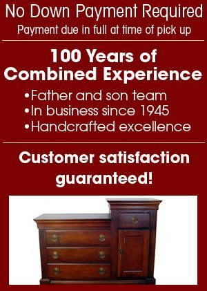 Custom Wood Furniture - Tulsa, OK - McClure Furniture Refinishing