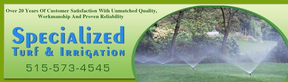 Sprinkler Systems - Fort Dodge, IA - Specialized Turf & Irrigation