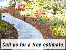 Landscape - Scottsdale, AZ - J P Landscaping - Walkway - Call us for a free estimate.