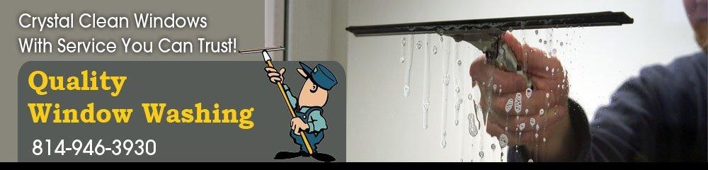 Window Cleaning Altoona, PA - Quality Window Washing
