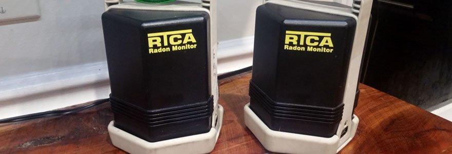 Exterior radon fan