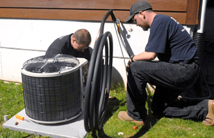 Repairing Air Conditioning And Heating System