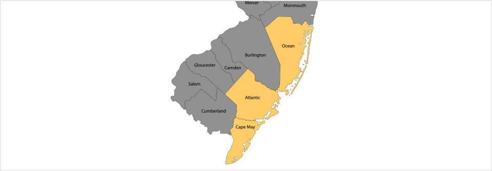 Ed's Plumbing Corporation service area map