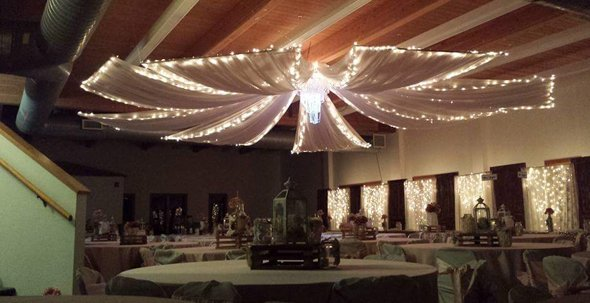 Nice Detail Oriented Wedding Drapery Services