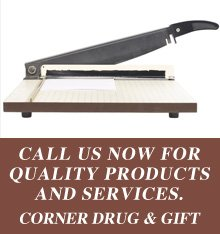 Scrapbooking - Downs, KS - Corner Drug & Gift - CALL US NOW FOR QUALITY PRODUCTS AND SERVICES.