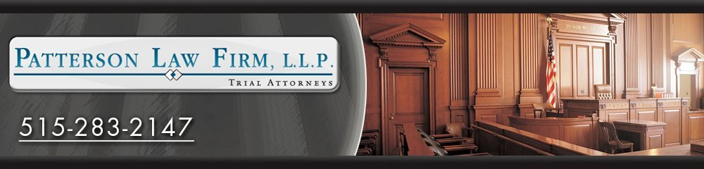 Law Firm - Des Moines, IA - Patterson Law Firm LLP