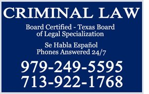 criminal law | La Grange, TX | Luis Amadeus Vallejo | 979-249-5595