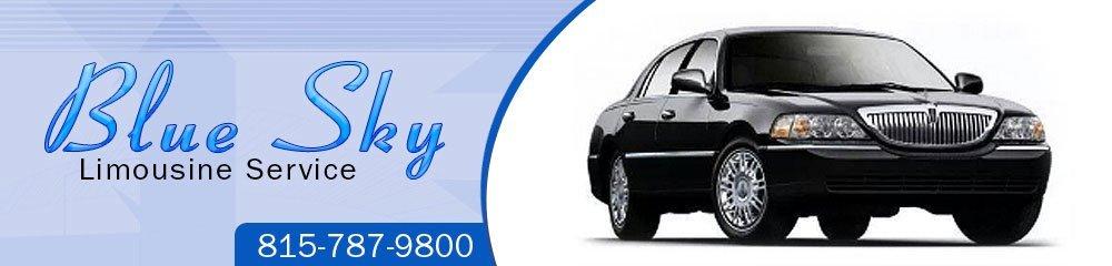 Car and Limousine Service - De Kalb, IL - Blue Sky Limousine Service