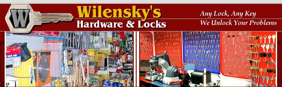 Wilensky's Hardware & Locks - Key, Lock, and Hardware Services - Philadelphia, PA