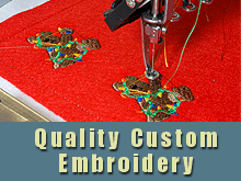 Custom Embroidery - Mary Esther, FL - Lookin' Good In Stitches