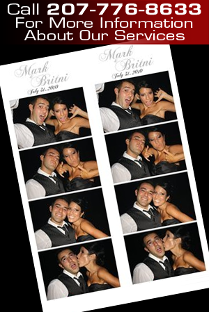 Photo Booth Rental Packages - Portland, ME - Portland Photo Booth Company - Digital Photo Strips - Call 207-776-8633 For More Information About Our Services