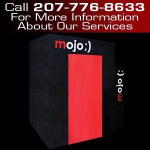 Photo Booth Rental - Portland, ME - Portland Photo Booth Company - MojoBooth - Call 207-776-8633 For More Information About Our Services