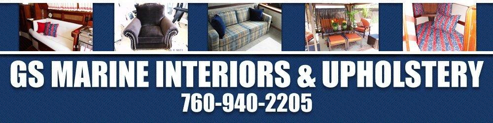 Upholstery Shop Oceanside, CA | GS Marine Interiors U0026 Upholst