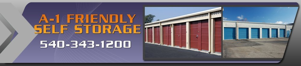 Storage Place - Roanoke, VA - A-1 Friendly Self Storage