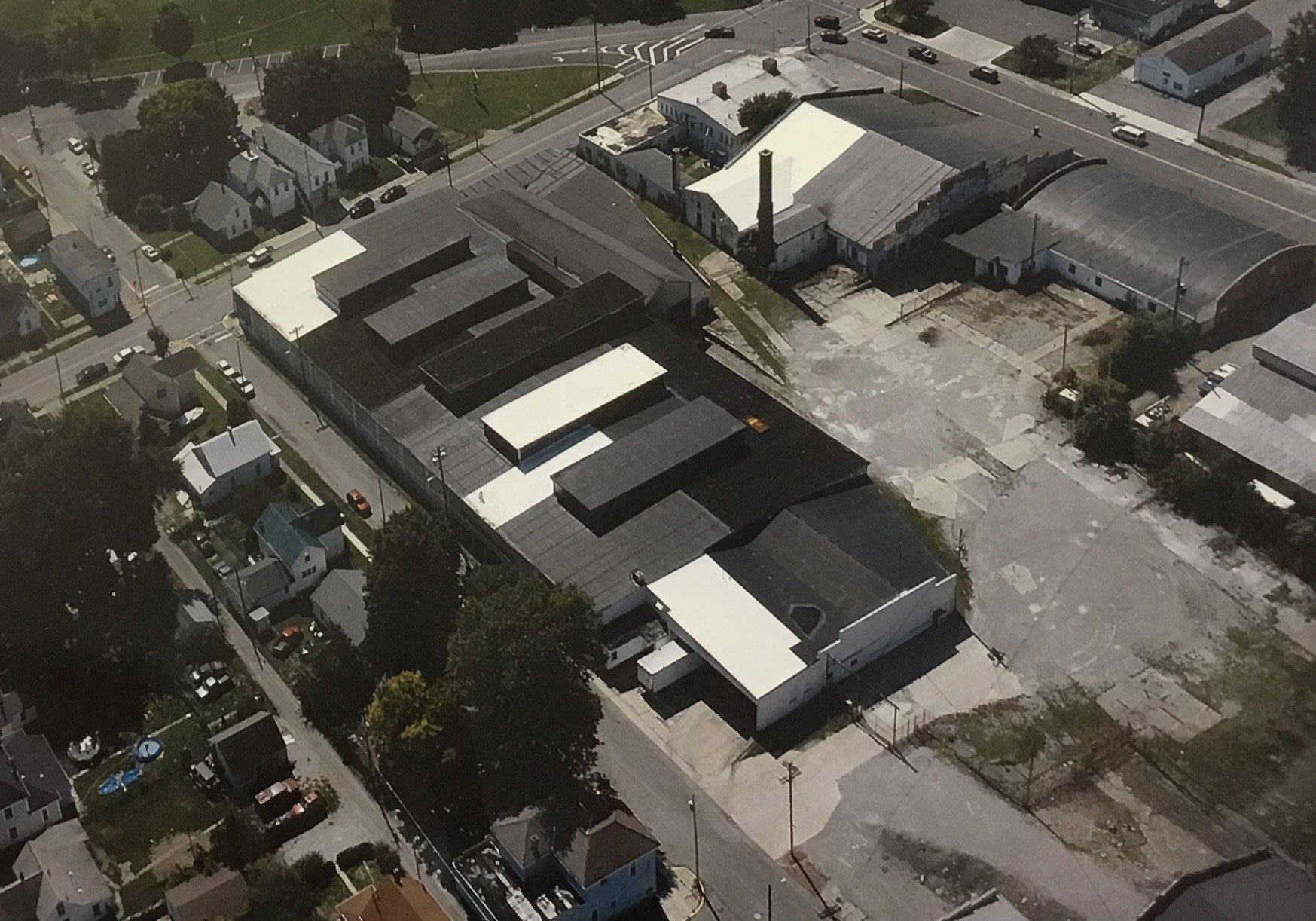 Black rooftop