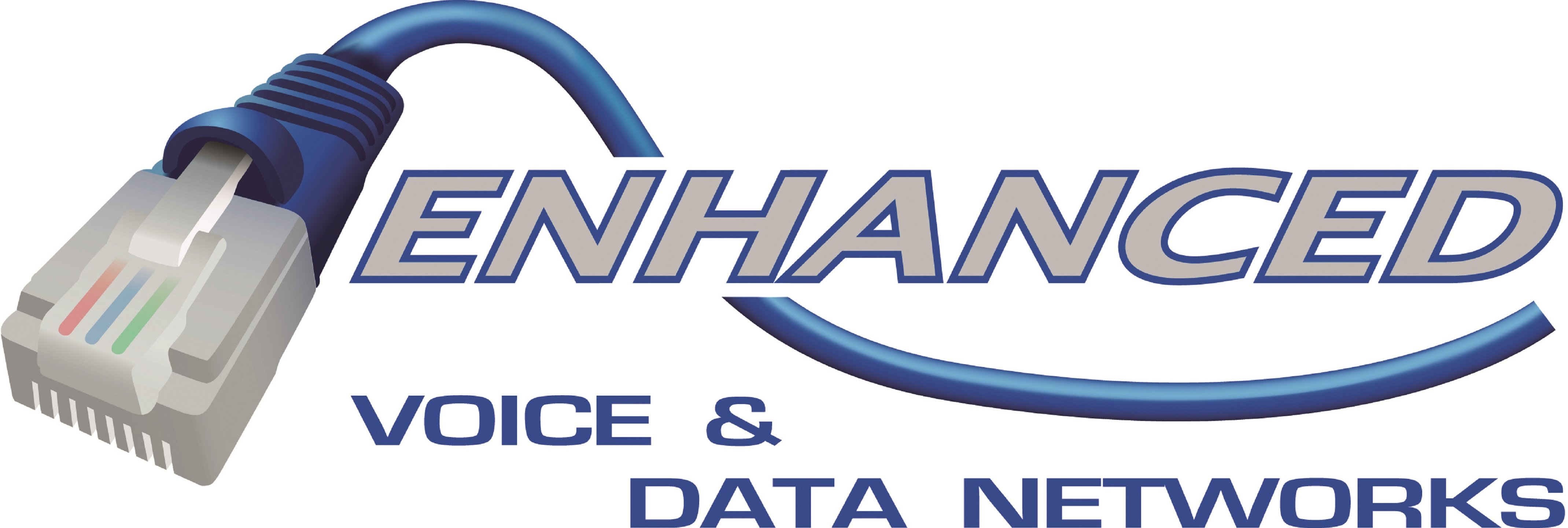 Enhanced Voice & Data Networks - Logo