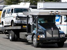 auto repair - Bicknell, IN - Mullins Service - tow truck