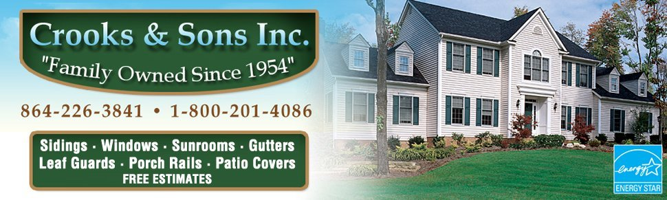 Crooks & Sons Inc | Anderson, SC | 864-226-3841