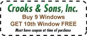 Anderson, SC - Crooks & Sons, Inc. - 10% Off First Time Customers