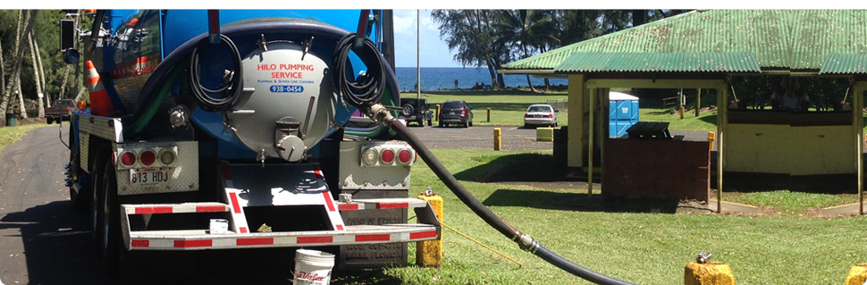 Septic draining | Hilo,HI | Sewer Solutions | 808-430-2323