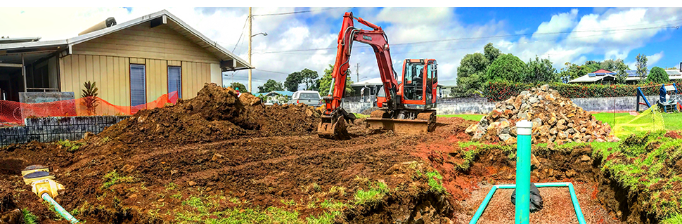 Excavation Services   Hilo,HI   Sewer Solutions   808-430-2323