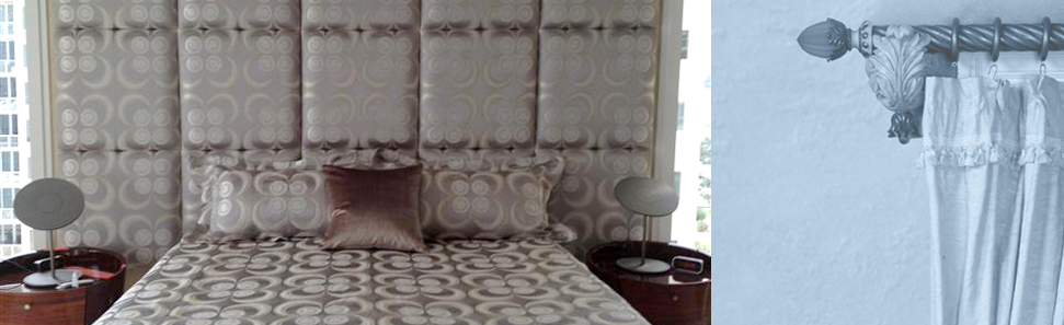 Custom Headboards | Rockville, MD | YI's Interiors Inc. | 301-770-3687
