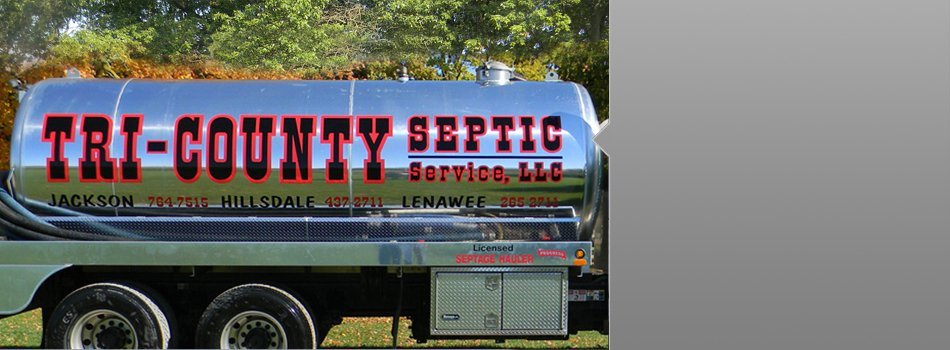 Areas Serviced | Cement City, MI | Tri-County Septic Service LLC | 517-592-2711
