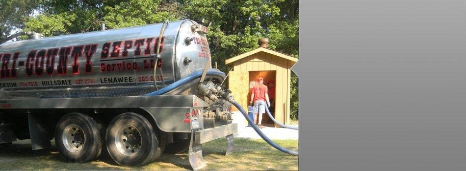 Septic Tank Maintenance | Cement City, MI | Tri-County Septic Service LLC | 517-592-2711
