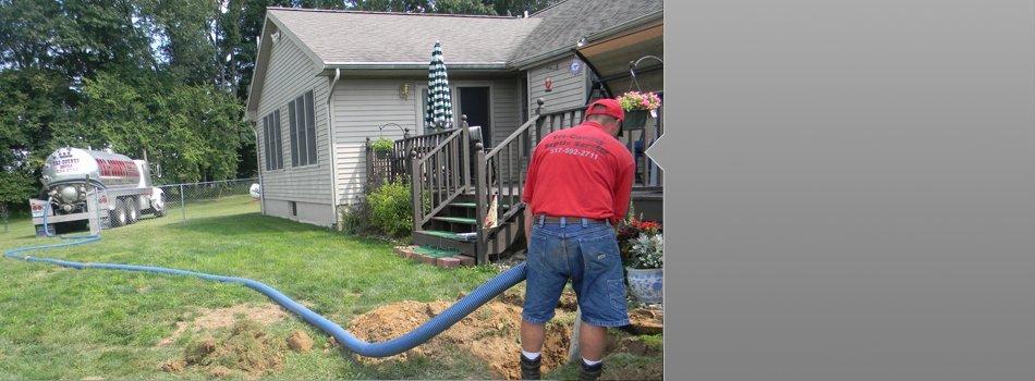 Septic Services | Cement City, MI | Tri-County Septic Service LLC | 517-592-2711