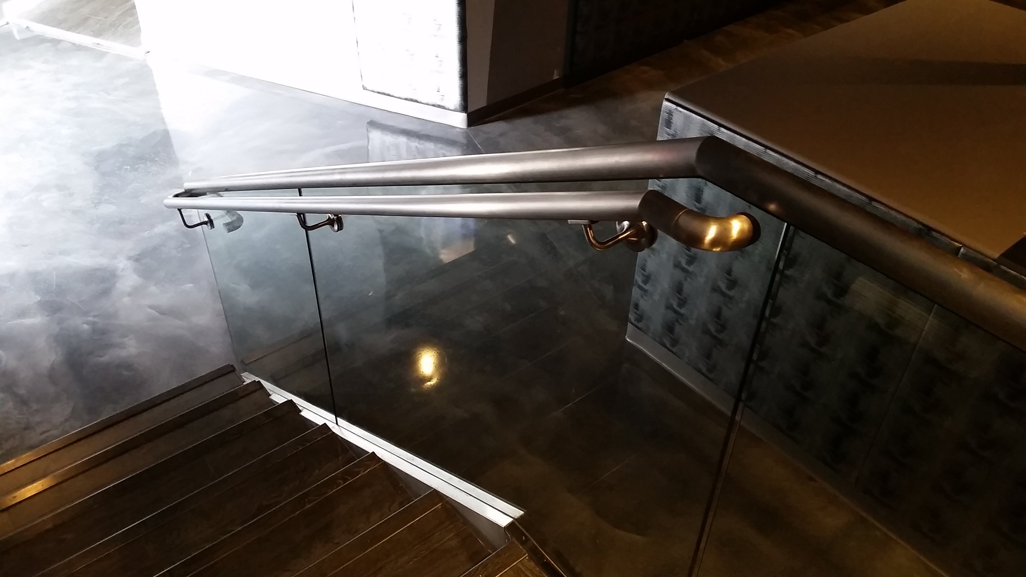 Staircase Glass Railing