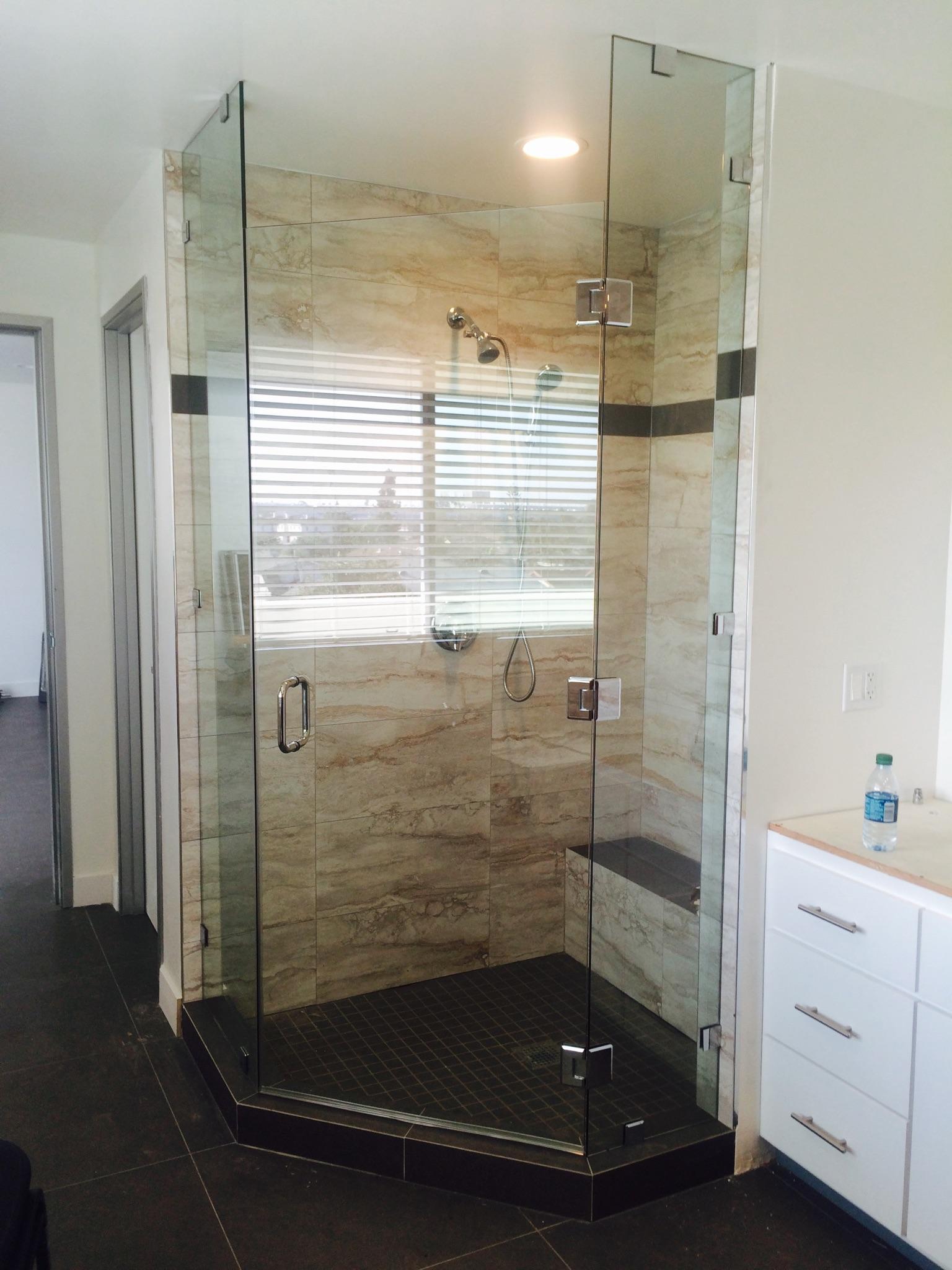 Bathroom Glass Door