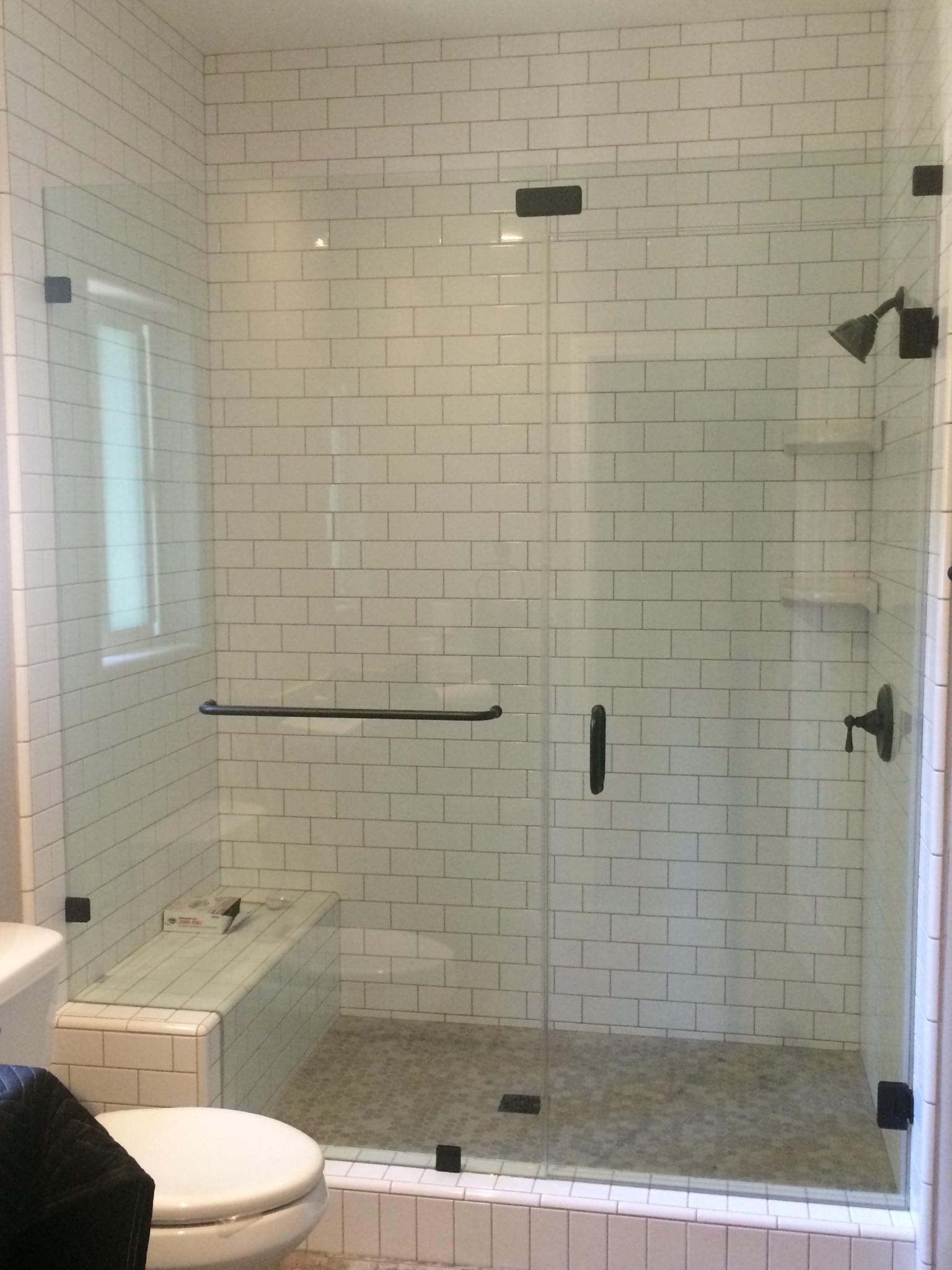 Bathroom Glass Panels