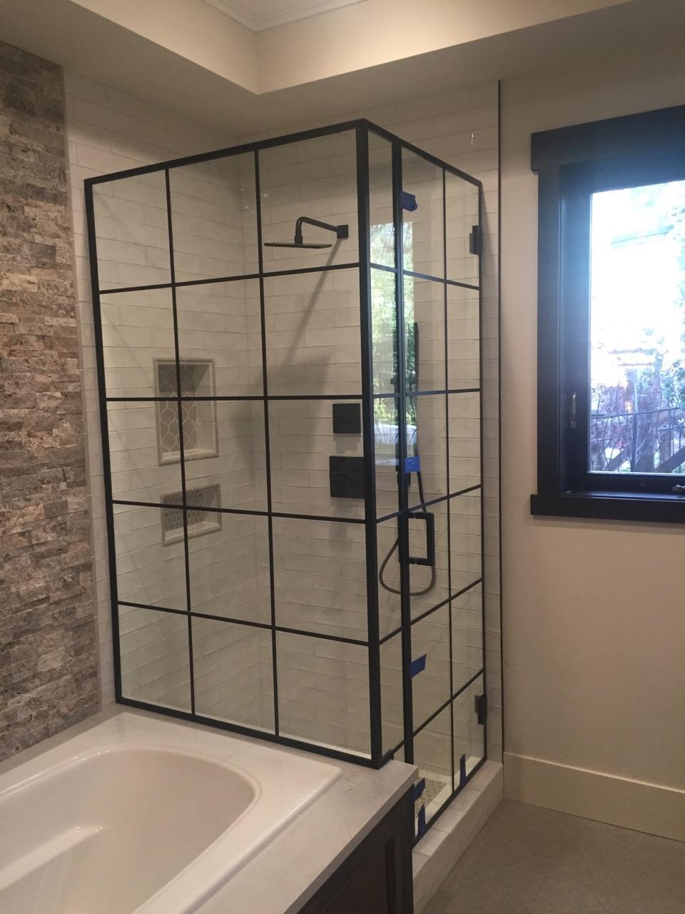 Shower Glass Door Panels