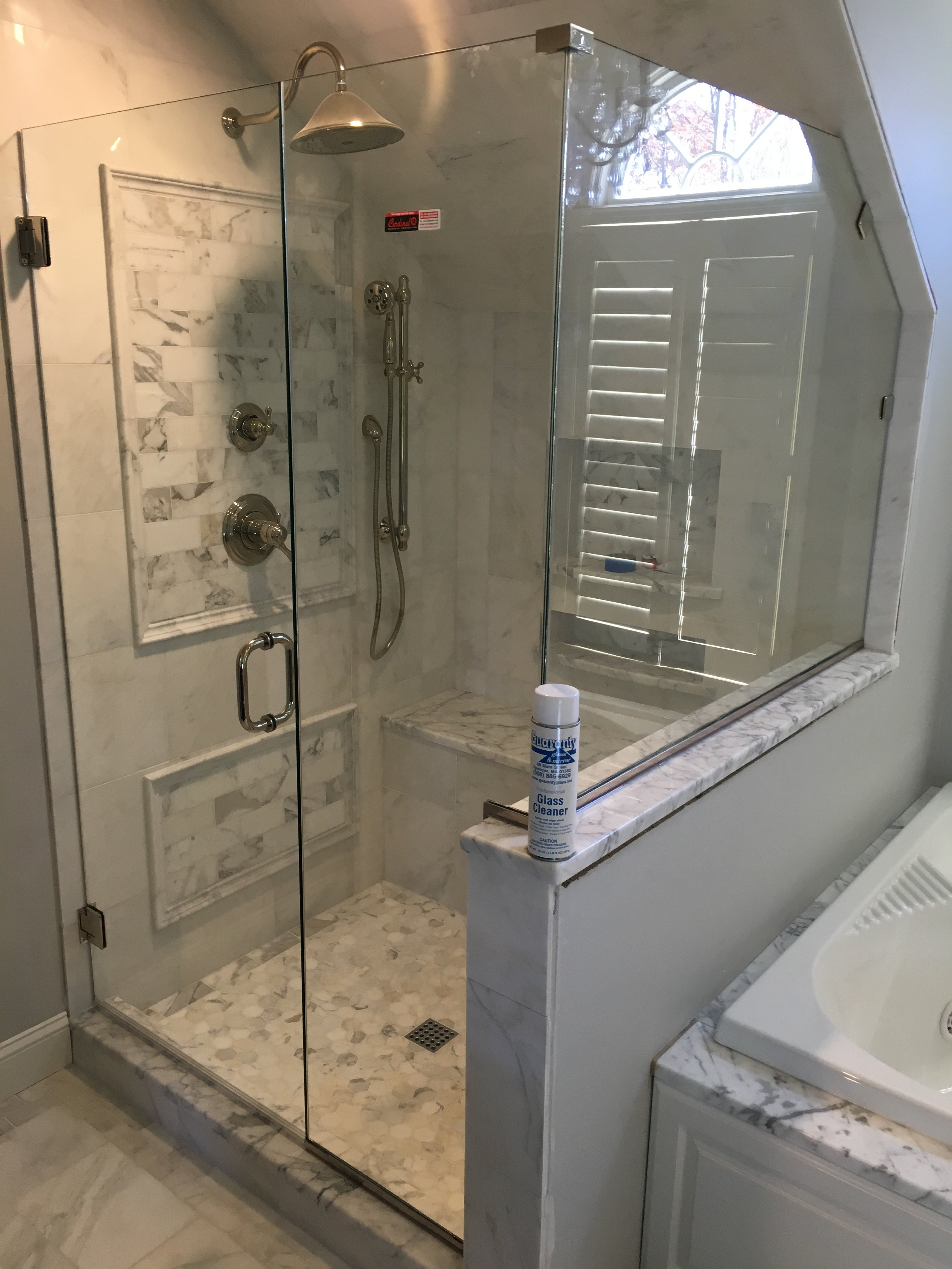 Shower Doors | Mirrors and Stove Glass | Spencer, MA