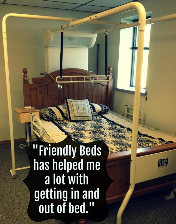 Friendly Bed Trapeze