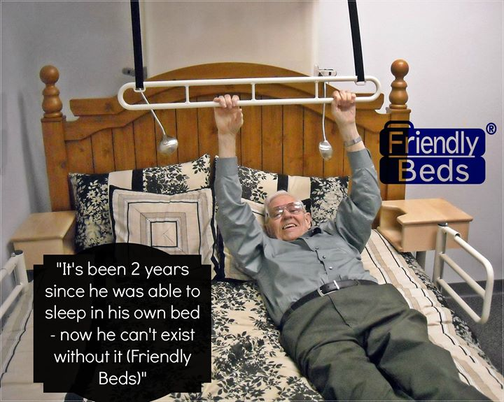 Senior Bed Mobility  Safe Bed Transfers