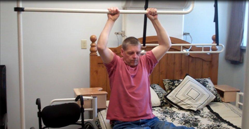 Bed Transfer Bar for Paraplegic