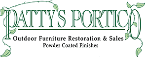 Patty's Portico Outdoor Furniture Restoration | Logo