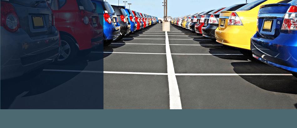 Parking lot markings