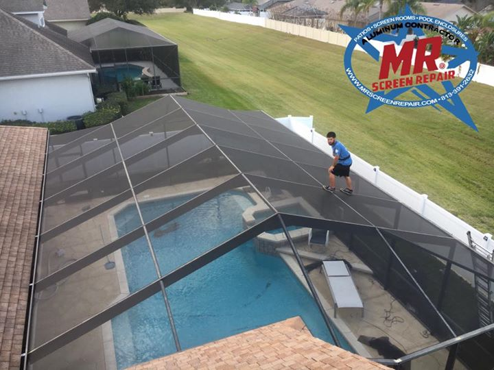 Mr Screen Repair Screen Services West Central Florida
