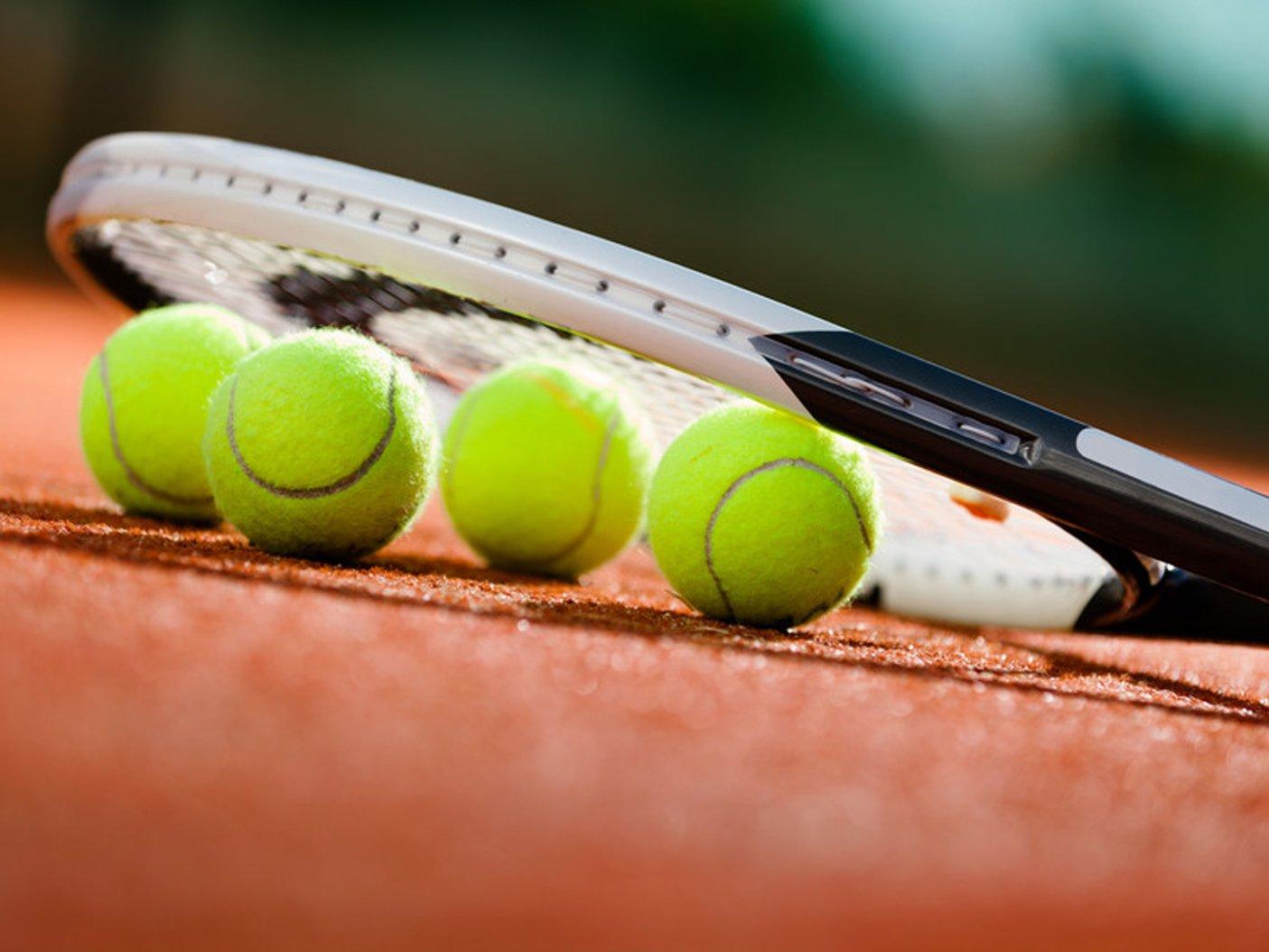 Tennis Ball and bat