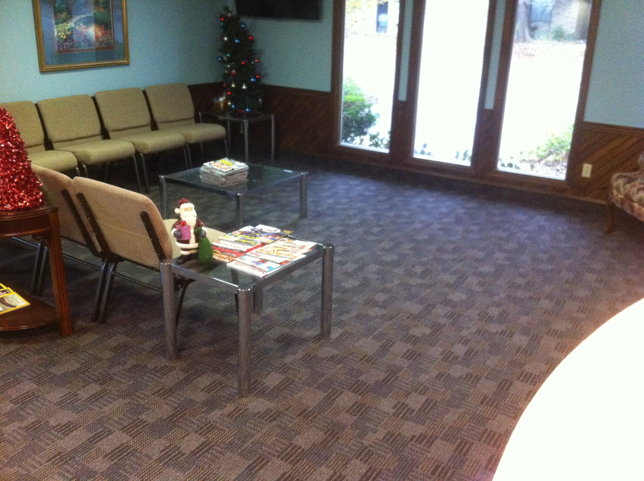 Inside view of Progressive Dental clinic