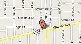 A & B Windows Roofing & Siding 1800 Wabash Ave Terre Haute, IN 47807-1107